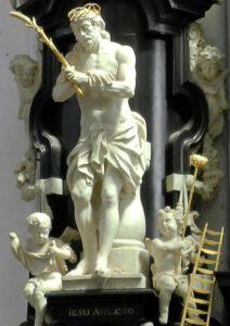 Het beeld De gegeselde Christus (Cornelius Struyf, ca. 1740-'43)