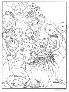 Sint-Paulus - 3de mysterie, De Geboorte (Cornelis de Vos)