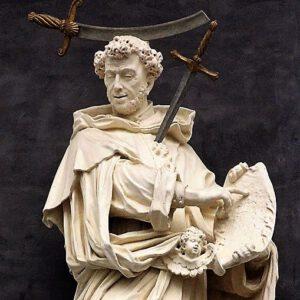 Sint-Petrus van Verona, alias Sint-Petrus de Martelaar (Jan-Pieter I van Baurscheit, 1700)
