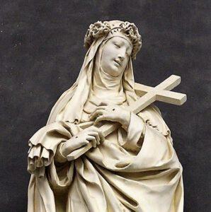 Sint-Catharina van Siena (Peter I Verbruggen, 1646, ontwerp van Andries Colyns de Nole)