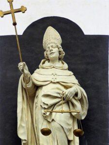 Sint-Antoninus Pierozzi van Firenze (Peter I Verbruggen, ca. 1650)